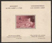 BLOK 8 Zonder Stempel In Rand MH Postfris Met Plakkers ! Verkoop Aan 150 Euro ! - Blocs 1924-1960