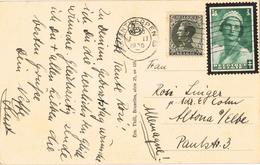 20702. Postal ANTWERPEN (Belgien) 1936. Place Leopold De Waele - Cartas