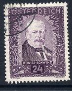 AUSTRIA 1932 Painters 24+24 Gr. Used.  Michel 546 - 1918-1945 1st Republic