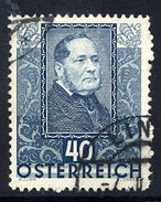 AUSTRIA 1931 Writers And Poets 40+40 Gr.. Used.  Michel 527 - 1918-1945 1st Republic