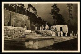 """1936, Sommer-Olympiade, Amtliche Bildpostkarte """"Der Einzug Des Herkules. Spiel Auf Der Dietrich-Eckart-Bühne"""",... - Postcards"""