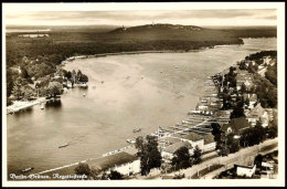 "1936, Sommer-Olympiade, Bildpostkarte ""Berlin-Grünau, Regattastrecke"" Mit Olympia-Sondermarke Und SST... - Postcards"