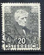 AUSTRIA 1931 Writers And Poets 20+20 Gr.. Used.  Michel 525 - 1918-1945 1st Republic
