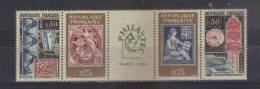 France Timbres De 1964 N°1417A ( Bande Philatec ) Timbres Neuf ** - Neufs