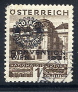 AUSTRIA 1931 Rotary International Congress 1+1 S... Used.  Michel 523 - 1918-1945 1st Republic