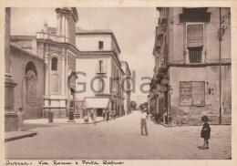Italy - Aversa - Via Roma E Porta Capua - Aversa