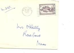 Lettre Irlande 1956   (7) - 1949-... Repubblica D'Irlanda