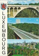 Bridges.Luxembourg.heraldy.stamp Motive NATO,OTAN,Flags - Bridges