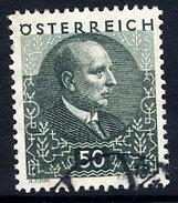 AUSTRIA 1930 Tuberculosis Sanatorium 50+50 Gr. Used.  Michel 516 - 1918-1945 1st Republic