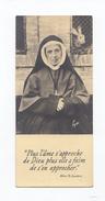 Mère Thérèse Couderc Devant Un Clapier, Lapin (Sablières, Lalouvesc, Lyon) - Images Religieuses