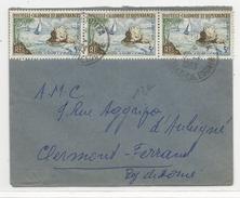 CALEDONIE - 1963 - ENVELOPPE De NOUMEA Pour CLERMONT-FERRAND - Briefe U. Dokumente
