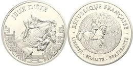 1,5 Euro, 2007, XXIV. Olympiade In Beijing 2008, Km 1477, Schön 893, Im Etui Mit OVP Und Zertifikat, Auflage... - Sweden
