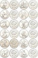 Set Zu 12x 10 Euro, 2004, XXVIII. Olympische Sommerspiele In Athen - 3. Ausgabe, Je In Etui Mit OVP Und... - Greece