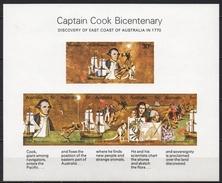 Australie - Bloc Feuillet - 1970 - Yvert N° BF 3 **  - Découverte De L'Australie Par Le Capitaine Cook - Blocchi & Foglietti
