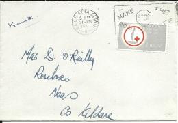 Lettre Irlande 1963 (4) - 1949-... Repubblica D'Irlanda