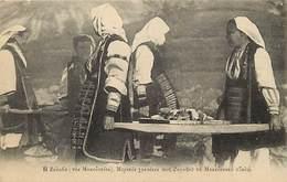 Ref G672- Macedoine - Zelova - Femmes Portant Le Costume Macedonien -  Carte Bon Etat   - - Macedonia