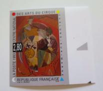 ZFrN2833a - RARE - FRANCE 1993 - Timbre N° 2833a - Non Dentelé Neuf** - Qualité LUXE - Arts Du Cirque - Belle Côte - Circo