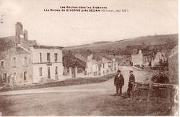 GIVONNE Mai 1917 Les Boches Dans Les Ardennes - Non Classificati