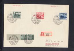 Dt. Reich R-Brief 1939 Grossformat IAA Sonderstempel - Deutschland
