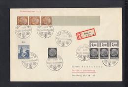 Dt. Reich R-Brief 1939 Grossformat Tag Der Briefmarke Sonderstempel - Deutschland