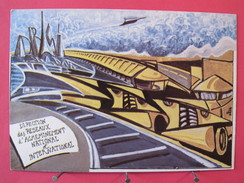 DRANI Ex DSA - Direction Des Réseaux D'Acheminement National Et International - 1988 - France