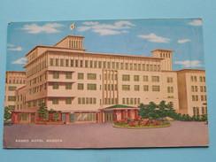 KANKO Hotel NAGOYA () Anno 19?? ( Zie Foto Details ) !! - Nagoya