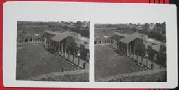 Stereofoto: Italien Pompei (NA) - Platz Der Gladiatoren - Stereoscopio