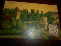 B654  Lussemburgo Anciennes Tours Cm14x9 - Cartoline