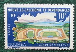 NOUVELLE CALEDONIE - YT N°337 - Complexe Sportif / Stade De Magenta / Sport - 1968 - Neuf - New Caledonia
