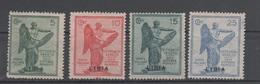 1922 Libia Anniversario Vittoria Serie Cpl MNH - Libia