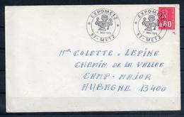 France. Enveloppe. Expometz. 11 Avril 1975 - Marcophilie (Lettres)