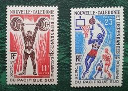 NOUVELLE CALEDONIE - YT N°375, 376 - Jeux Du Pacifique Sud / Sport - 1971 - Neufs - Neufs
