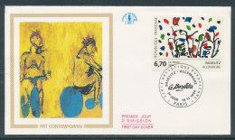 1994 Env 1er Jour Baselitz Allemagne - FDC