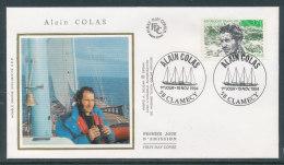1994 Env 1er Jour Alain Colas - Clamecy - FDC