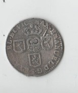 RARE LIARD EN ARGENT.1711.MAXIMILIEN EMMANUEL DE BAVIERE.BRIQUET COURONNE ENTOURE DE 3 ECUS AUX LIONS.PAYS- BAS ESPAGNOL - [ 5] Monnaies Provinciales