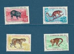 Equateur   Yvert Série  680 /683   -    4 Valeurs ** - Cw12405 - Equateur