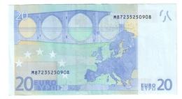 Portogallo 20 €  M U021F4 Circolato   Cod.€.241 - 20 Euro