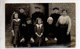 Fotokaart, Heist-op-den-Berg, Met Dorp Bewoners.Photo. Leon Van Den Broeck.Schroeyens. - Heist-op-den-Berg
