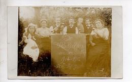 Fotokaart, Heist-op-den-Berg, Met Dorp Bewoners.De Slachtoffers Van Den Oorlog 1914-1915. - Heist-op-den-Berg