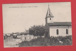 Courbesseaux  --  Place De L Eglise - France