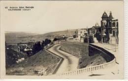 VALPARAISO - Avenida Gran Bretana, Used 1929 - Chile