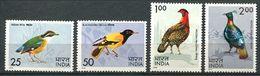 184 INDE 1975 - Yvert 428/31 - Oiseau - Neuf ** (MNH) Sans Trace De Charniere