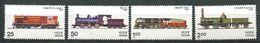 184 INDE 1976 - Yvert 477/80 - Train Locomotive - Neuf ** (MNH) Sans Trace De Charniere