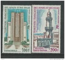 Afars Et Issas  P.A. N° 61 / 62  XX  Cathédrale De Djibouti Et Mosquée De Sayed-Hassan ,  Sans Charnière, TB