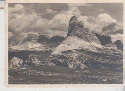 Tre Cime Di Lavaredo Dal Monte Piano 1943  Vg - Bolzano