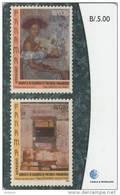 PANAMA - Stamps 3/Painters Of Panama, Used - Panama