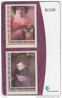 PANAMA - Stamps 2/Painters Of Panama, Used - Panama