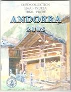 BU Andorre 2003 - Essai / Probe / Trial - EURO