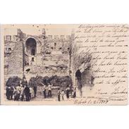 TLDTPA2868-LFTD3886.Tarjeta Postal DE TOLEDO.Edificios,personas Y CASTILLO DE ORGAZ  En TOLEDO - Toledo