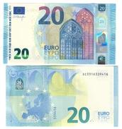 Italia 20 € SC S014 Draghi Q.fds  Cod.€.247 - EURO